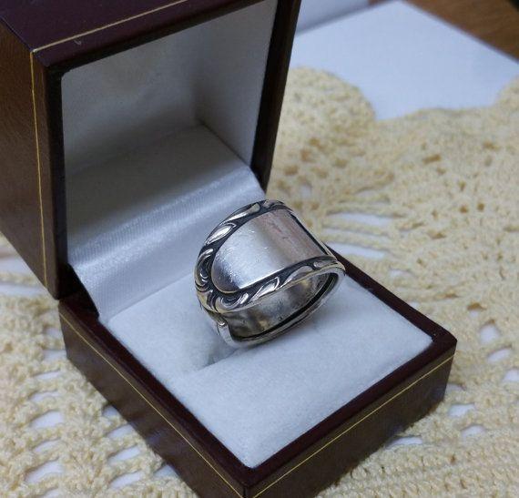 184 mm Besteckschmuck Silberbesteck Ring von BesteckschmuckBaron