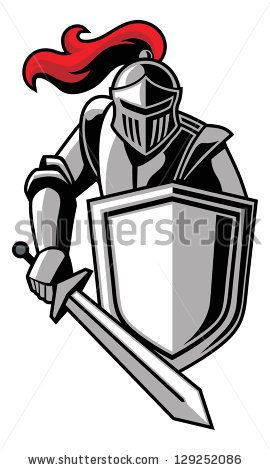 knights logo vector – Item 1 | Silhouette Cameo ...