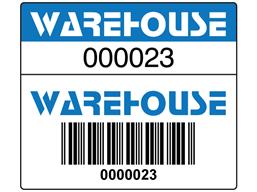 Scanmark Dual Barcode Label Full Design 26mm X 30mm Bsk02 Label Source Barcode Labels Labels Custom Design