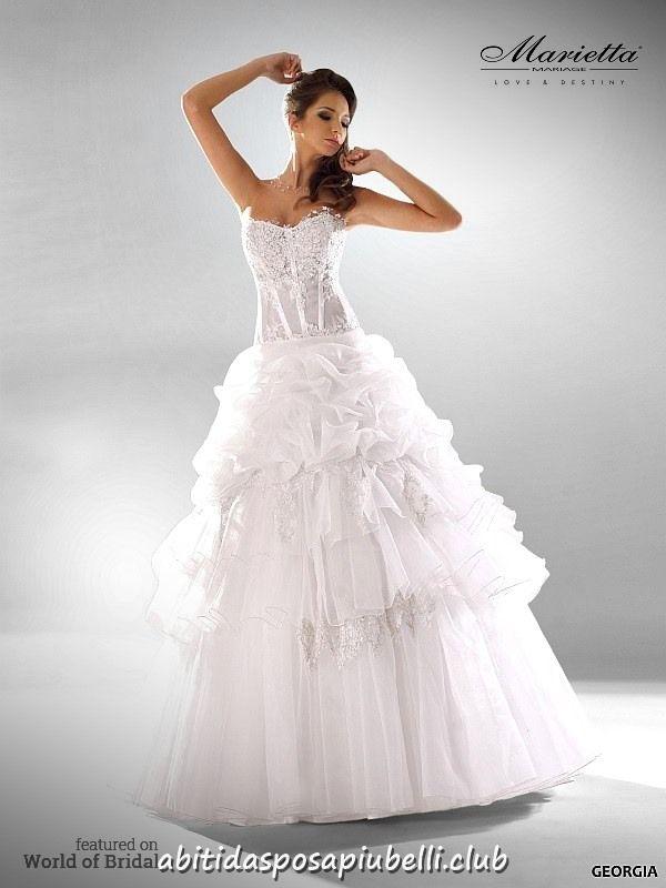 e59a59ef0919 Collezione di abiti da sposa Marietta Mariage 2018 Glamour  abiti   collezione  glamour
