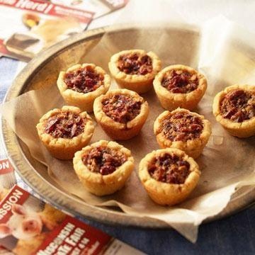Cranberry-Pecan Tarts