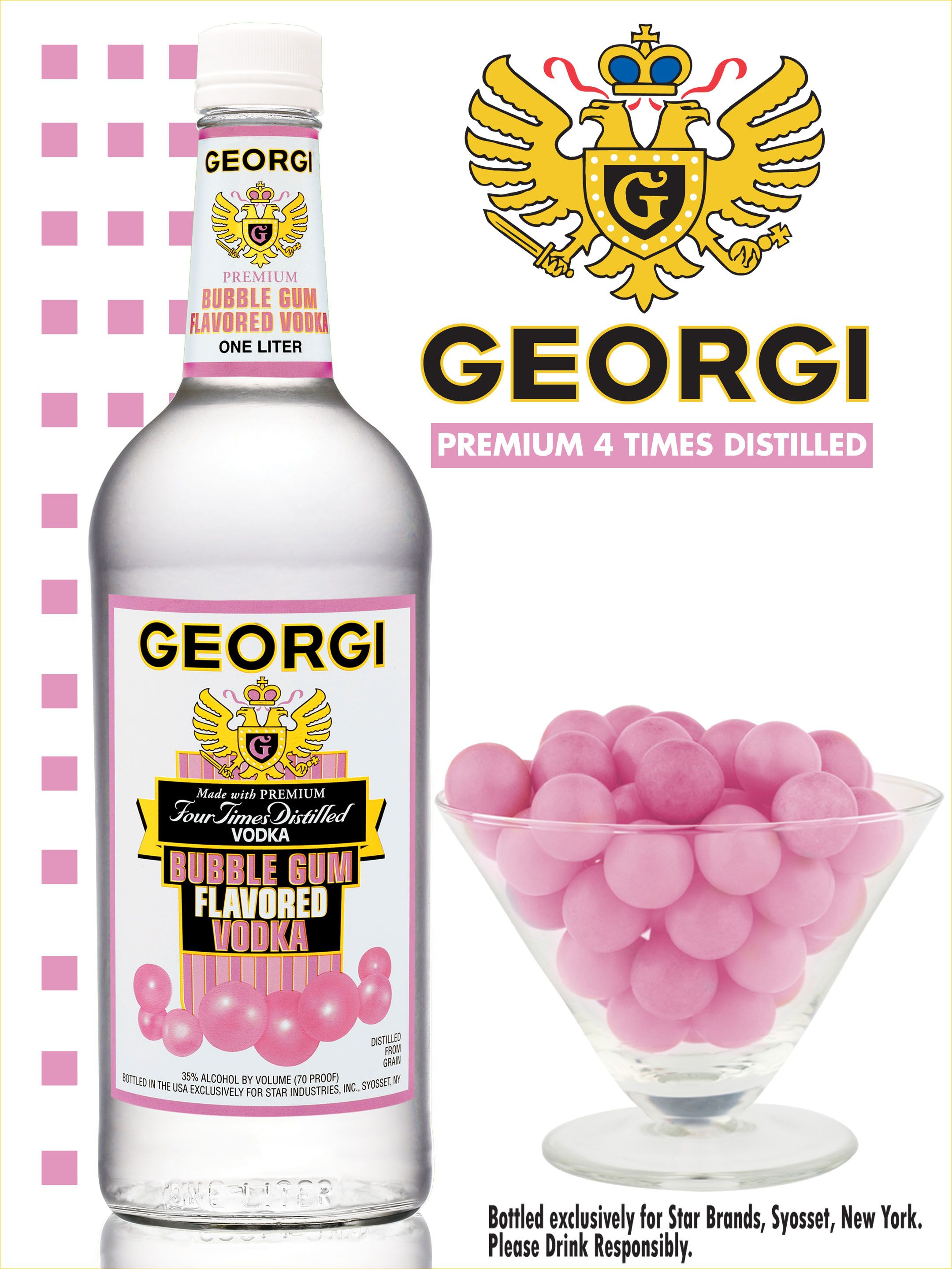 BUBBLE GUM VODKA