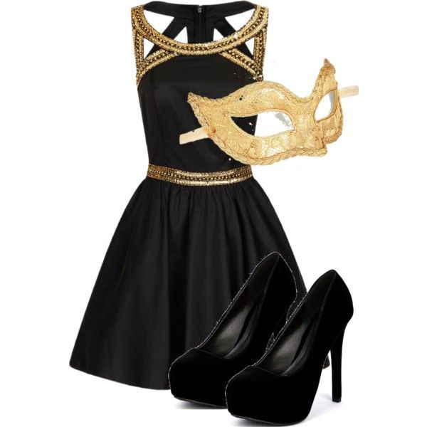 Elena Gilbert Inspired Masquerade Outfit | Christmas Party Ideas | Pinterest | Masquerade Outfit ...