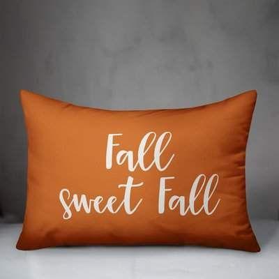 Norden Winston Porter Fall Sweet Fall Lumbar Pillow Winston Porter