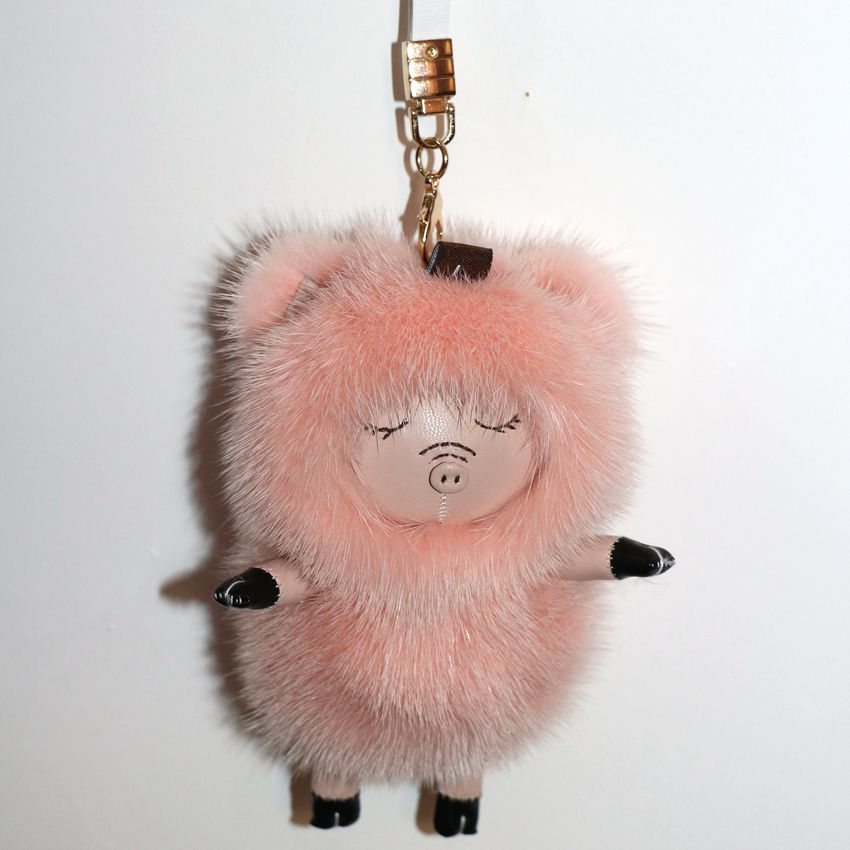которая брелки на сумку картинки бледно-розового