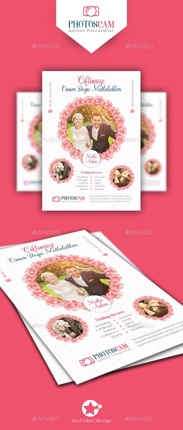 Wedding Flyer Templates Pinterest Flyer Template Template And