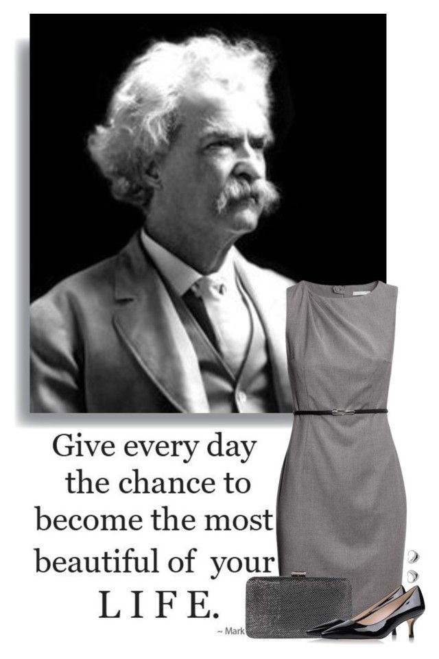"""""""Mark Twain"""" by ameve ❤ liked on Polyvore"""