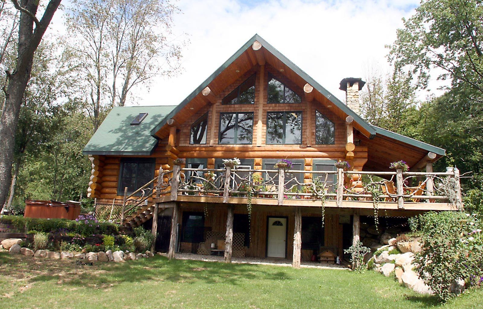Dream log home designs