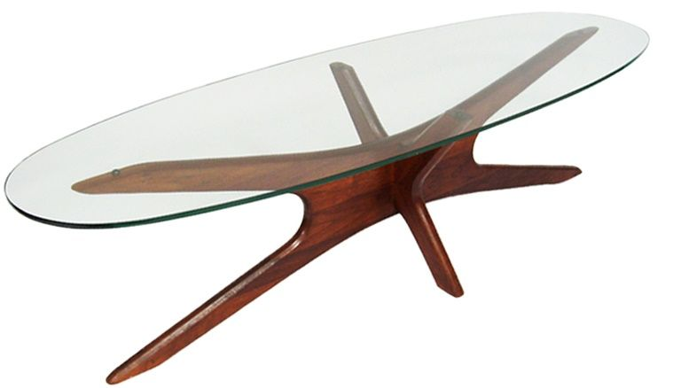 Adrian Pearsall Jacks Style Coffee Table Original Finish