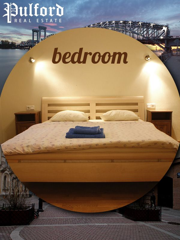 Cute design of bedroom