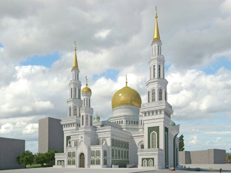 Masjid katedral moskow rusia beautiful mosques around the world masjid katedral moskow rusia thecheapjerseys Image collections