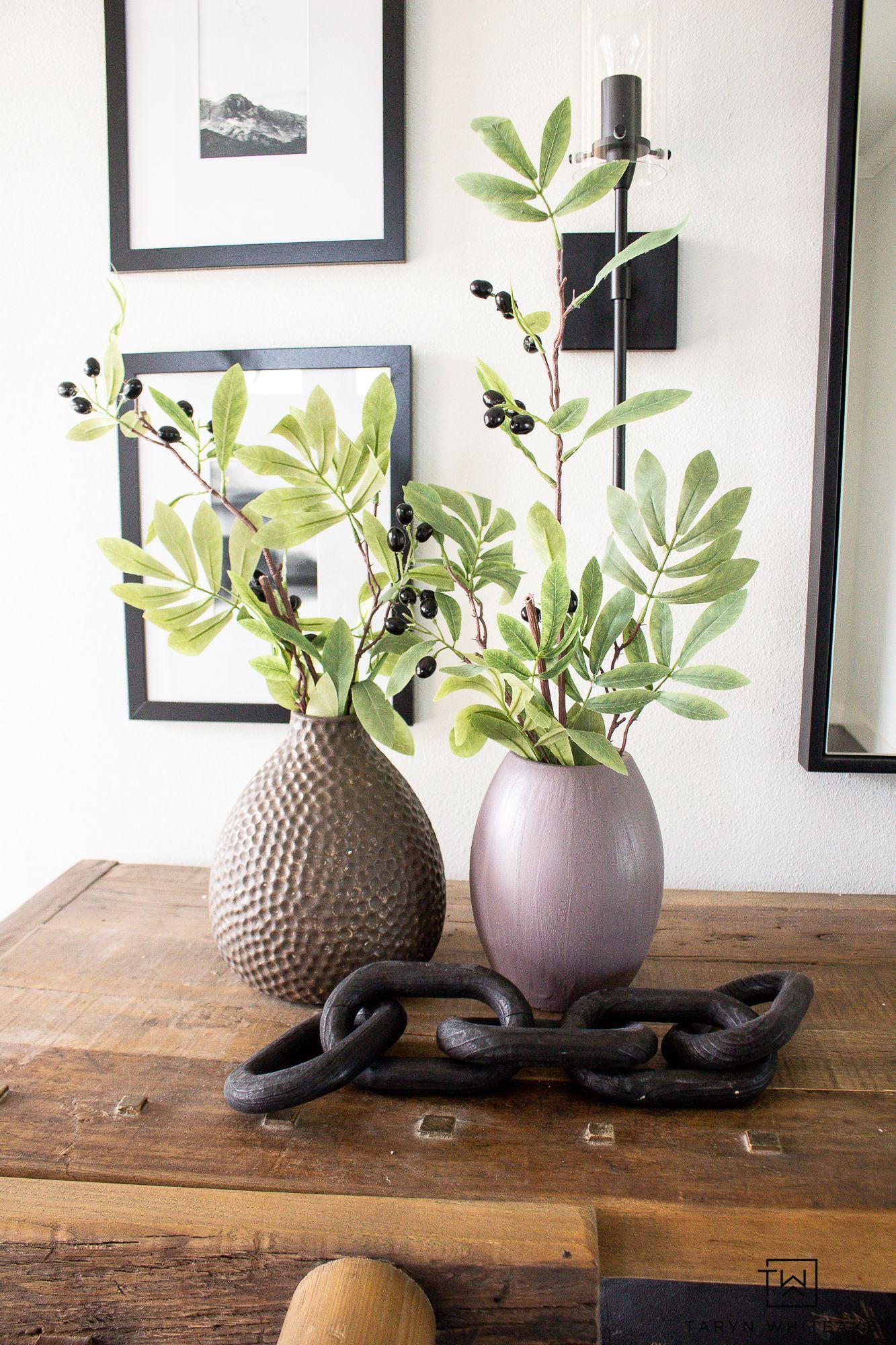Diy vase makeover diy old vases suede paint