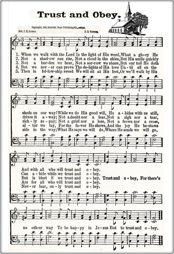 Hymn Sheet Music Set of 10 Rock Of Ages Love by GospelHymns