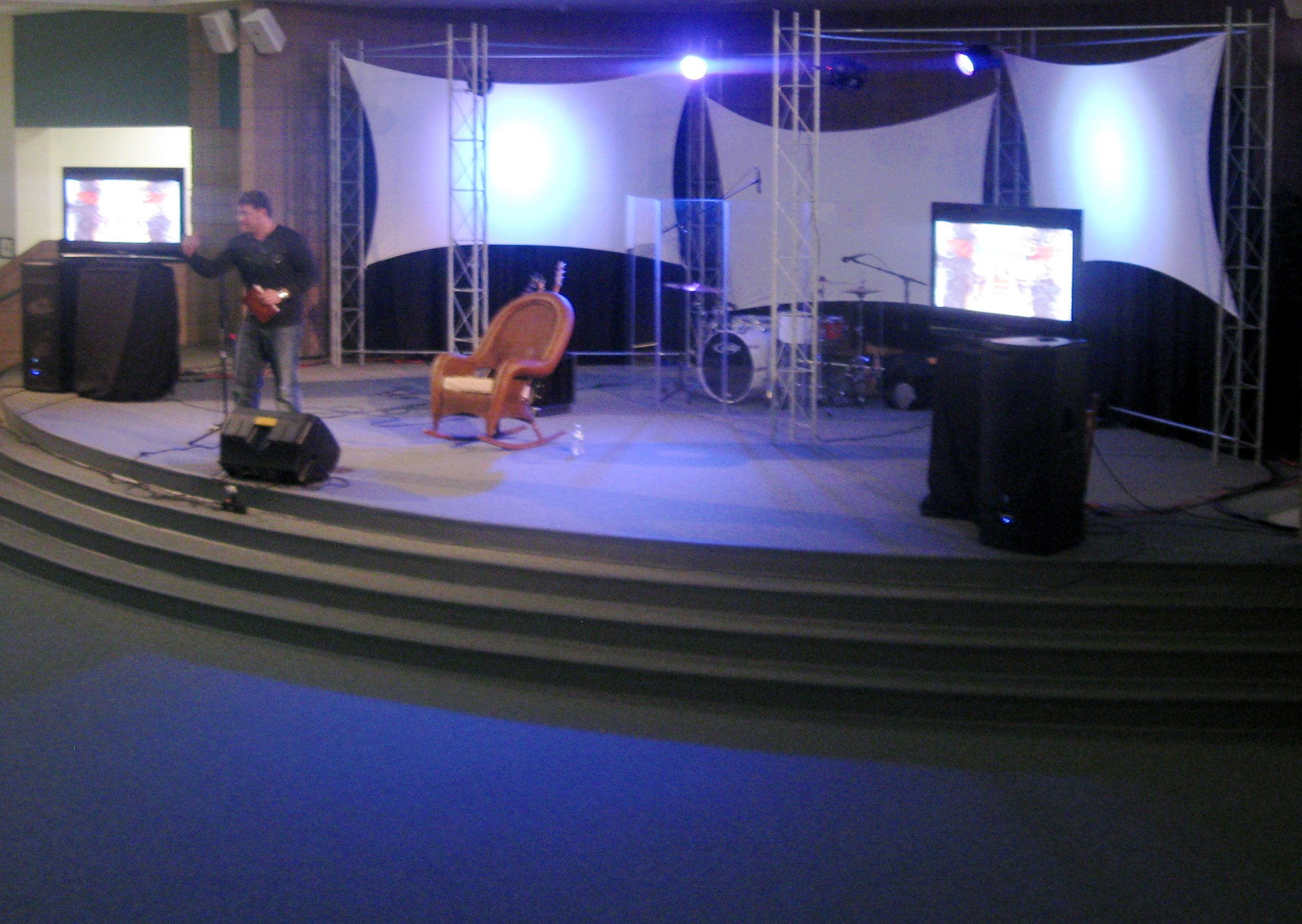church stage - Small Church Stage Design Ideas
