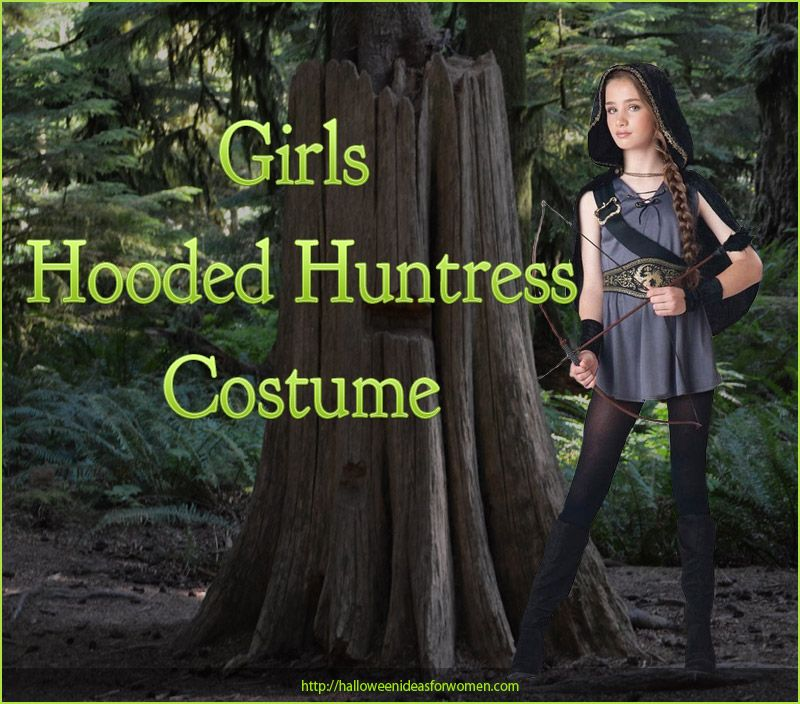 If you are looking for the perfect girls hooded huntress costume ...