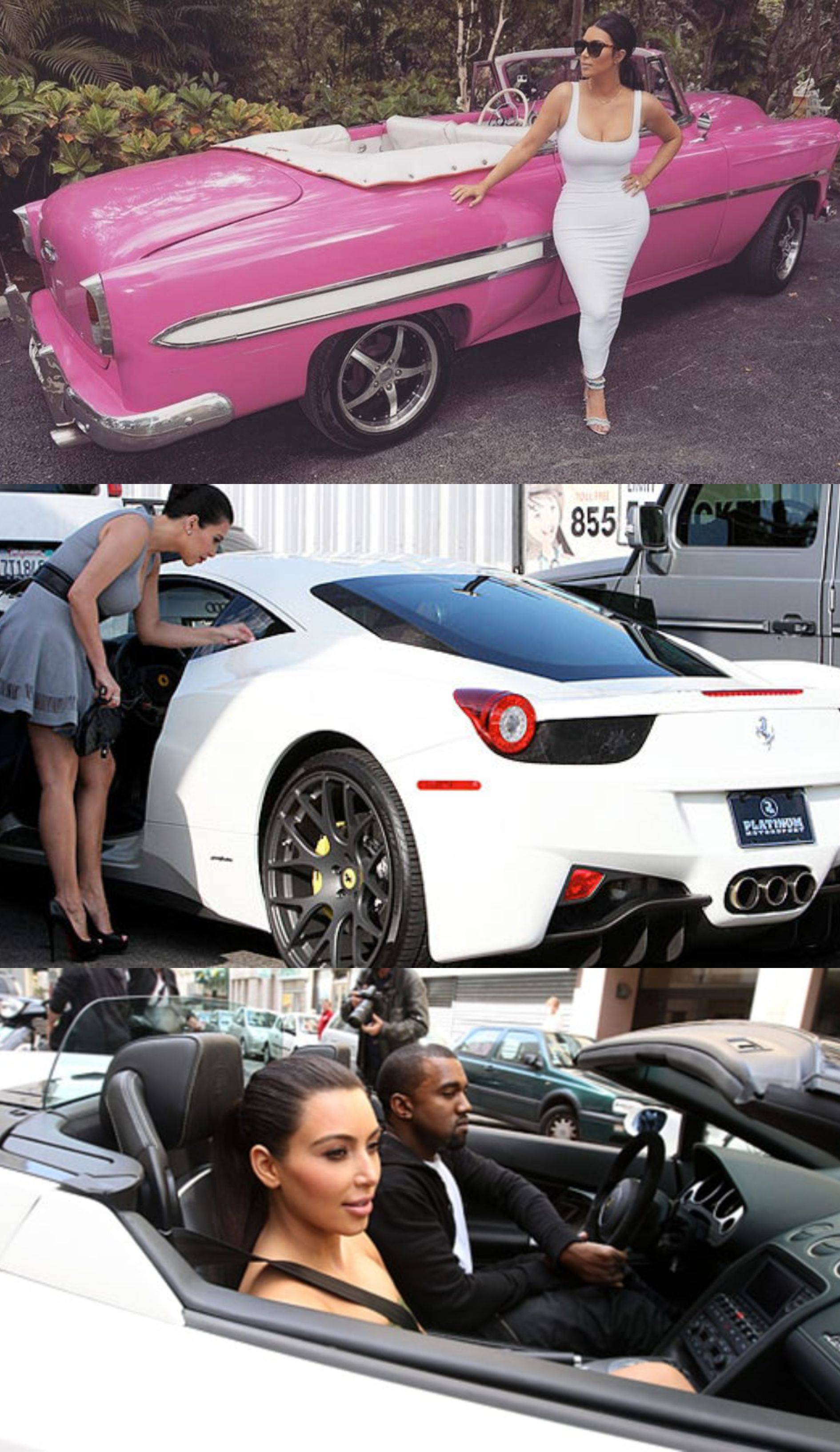 8 Badass Cars From Kim Kardashian S Cars Collection Kimkardashian