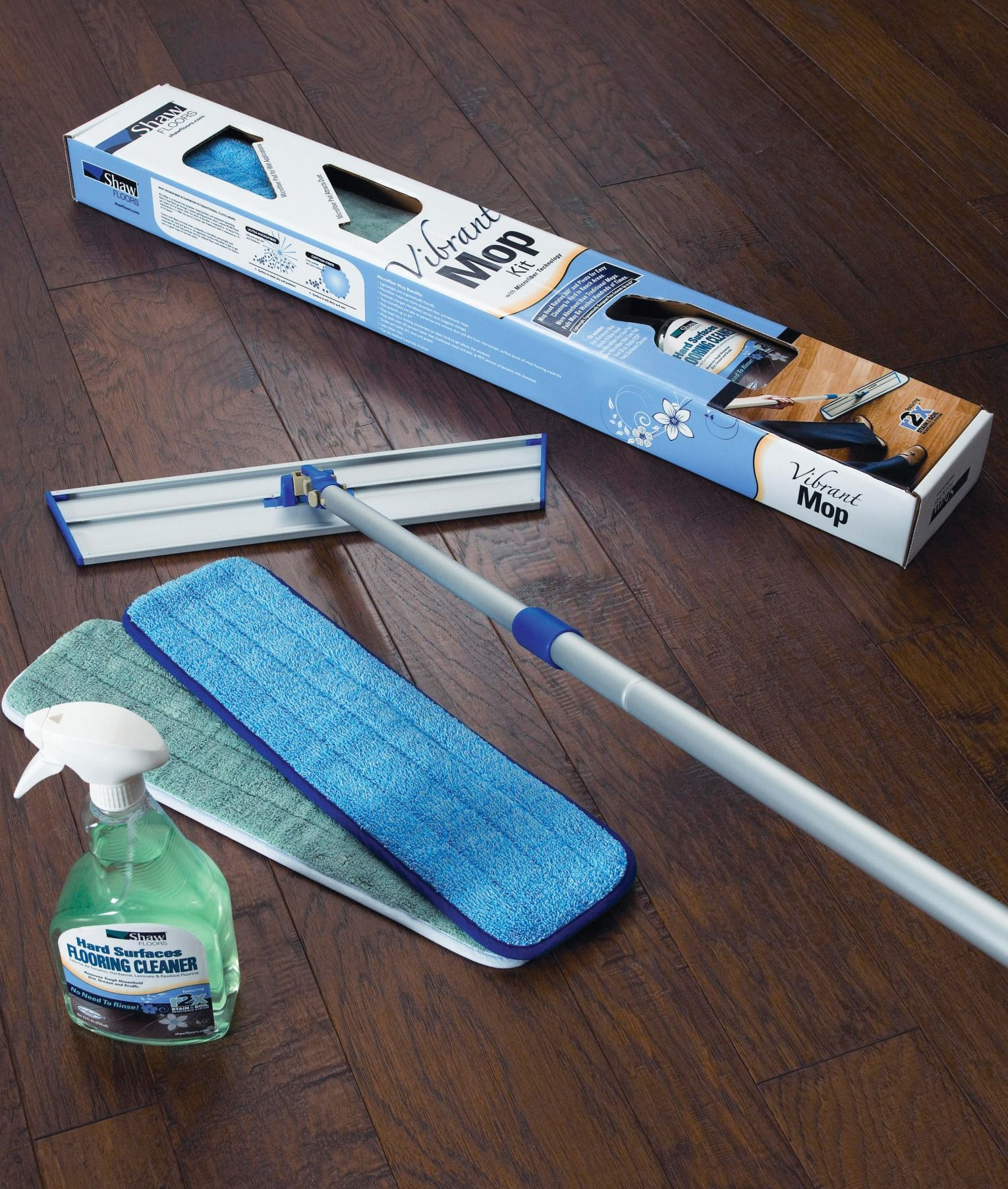Freshen up your flooring with a R2X Vibrant Mop Kit! More