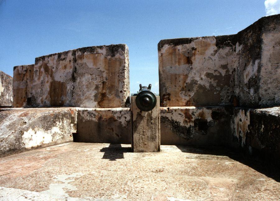 El Morro, San Juan, Puerto Rico.     circa 1979