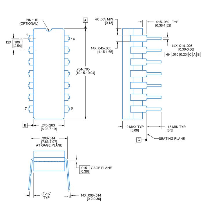 74ls138 Decoder Pinout Pin Diagrams In 2019 Diy Electronics