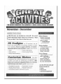Great Activities Magazine - lots of game ideas