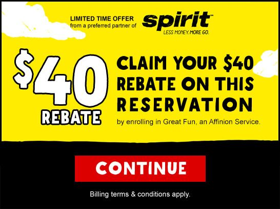 Claim your $40 rebate on this reservation by enrolling in Great ...