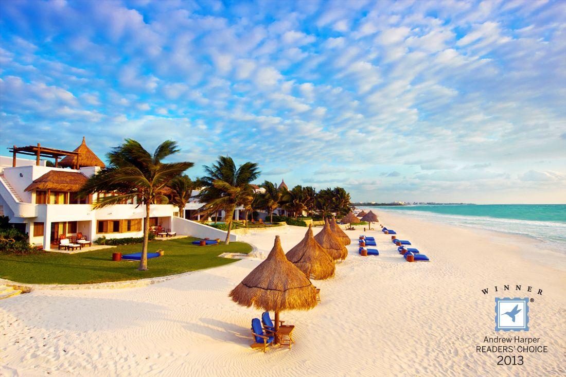 Maroma Resort and Spa - Playa del Carmen, Mexico. Andrew Harper Readers' Choice Awards 2013, Top-20 Beach Resorts and Top-20 International Hideaways