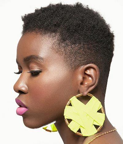 Short Hairstyles For Older Black Women Short Natural Hair Styles