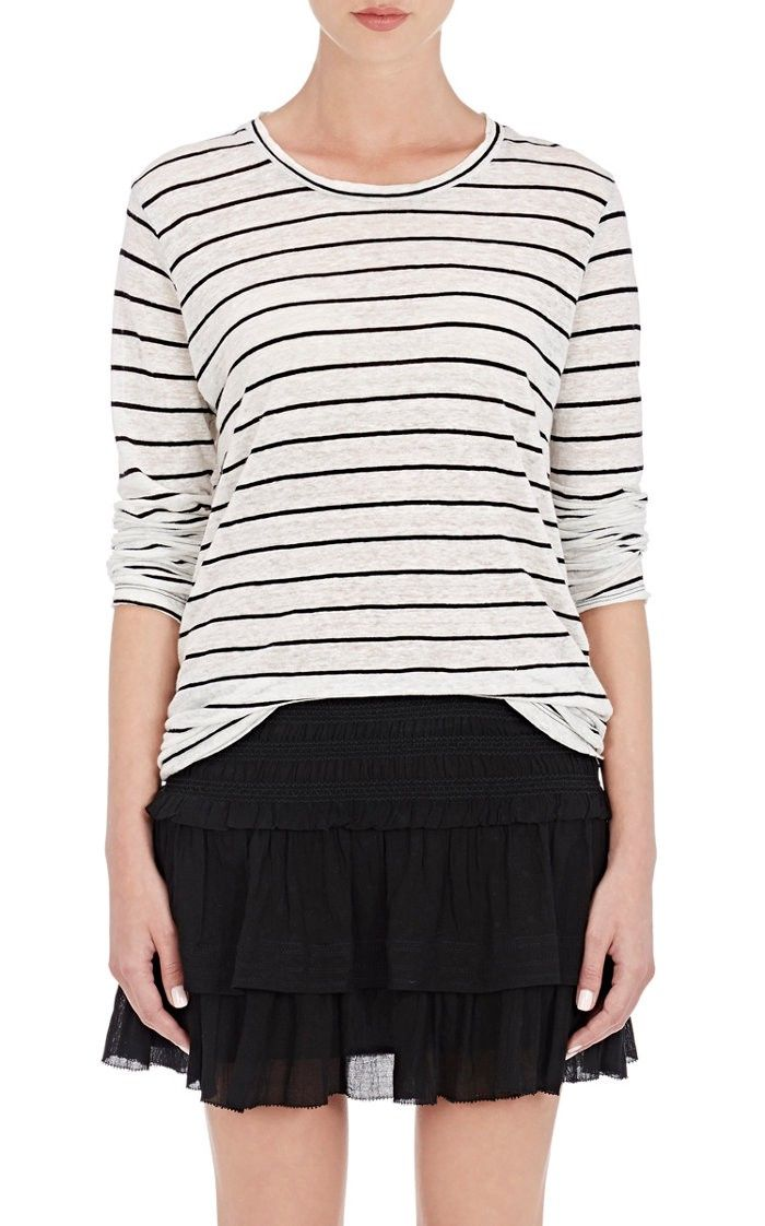 Cheap Websites Buy Cheap Huge Surprise Isabel Marant Étoile Aaron longsleeved T-shirt With Credit Card Free Shipping U4zey