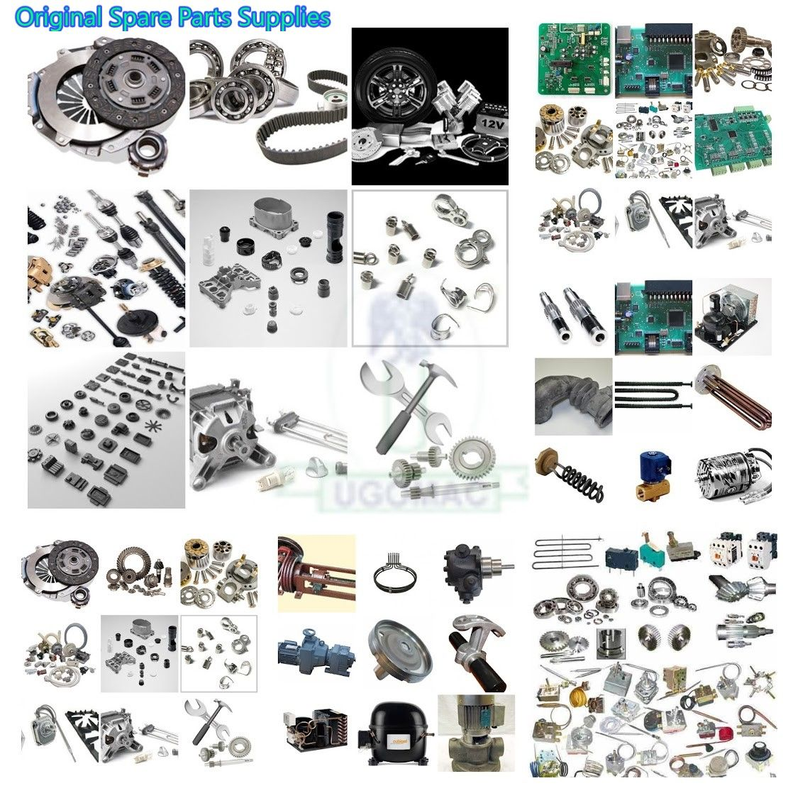 Original Spare Parts For Commercial Kitchen Catering Laundry Dry Cleaning Bakery Pastry And Refrigeration Equipment In One Place