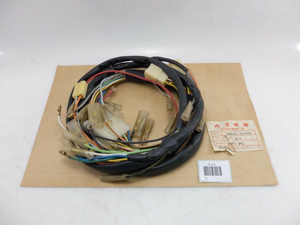 Suzuki A100 A 100 A 100 A7 A 7 A 7 Wire Harness Nos Unknown In 2020 Ebay Harness Wire