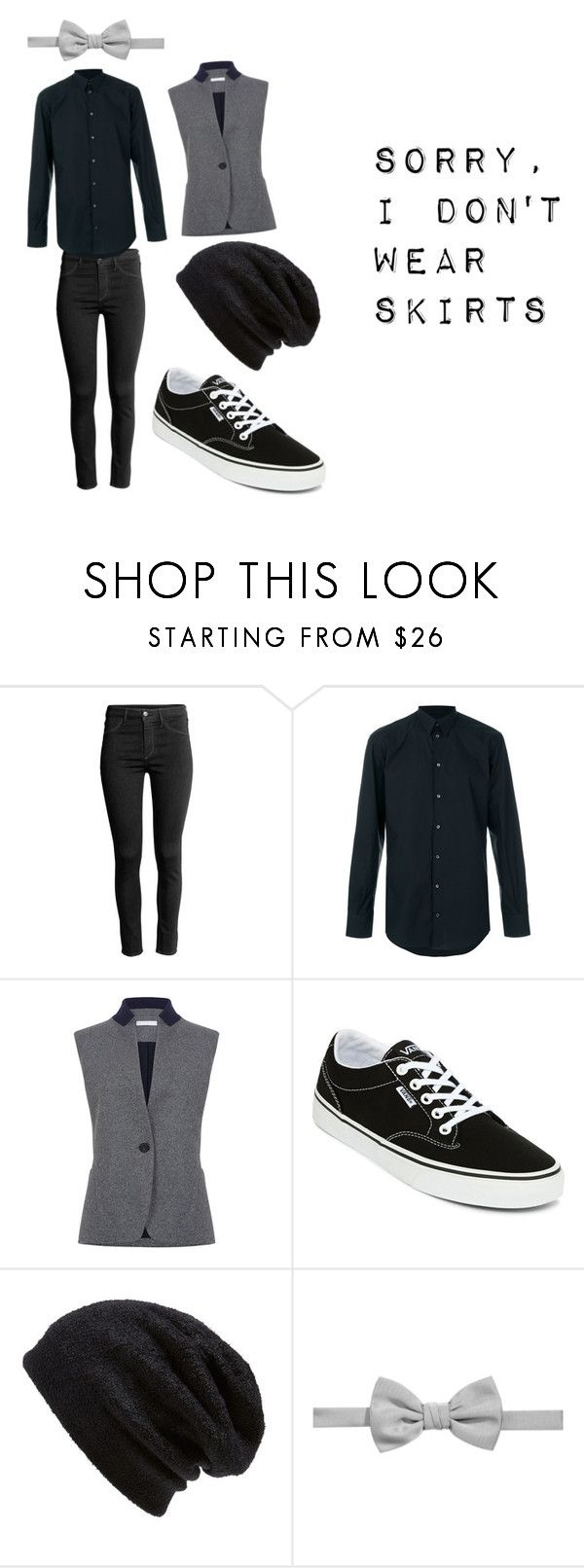 """Sorry, I Don't Wear Skirts"" by nightsirensss on Polyvore featuring Dolce&Gabbana, Atea Oceanie, Vans, Barefoot Dreams and Ryan Seacrest Distinction"