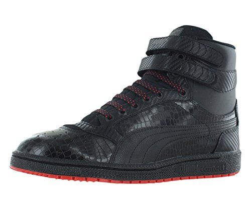 Puma SKY II HI CARBON Mens Basketball Shoes 14 BlackHigh