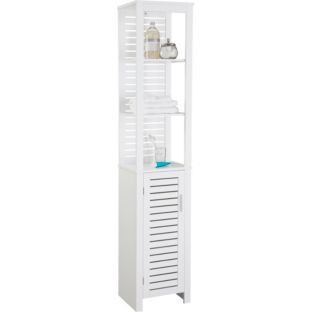 Bathroom shelves. Buy Living Spa Tall Boy   White at Argos co uk   Your Online Shop