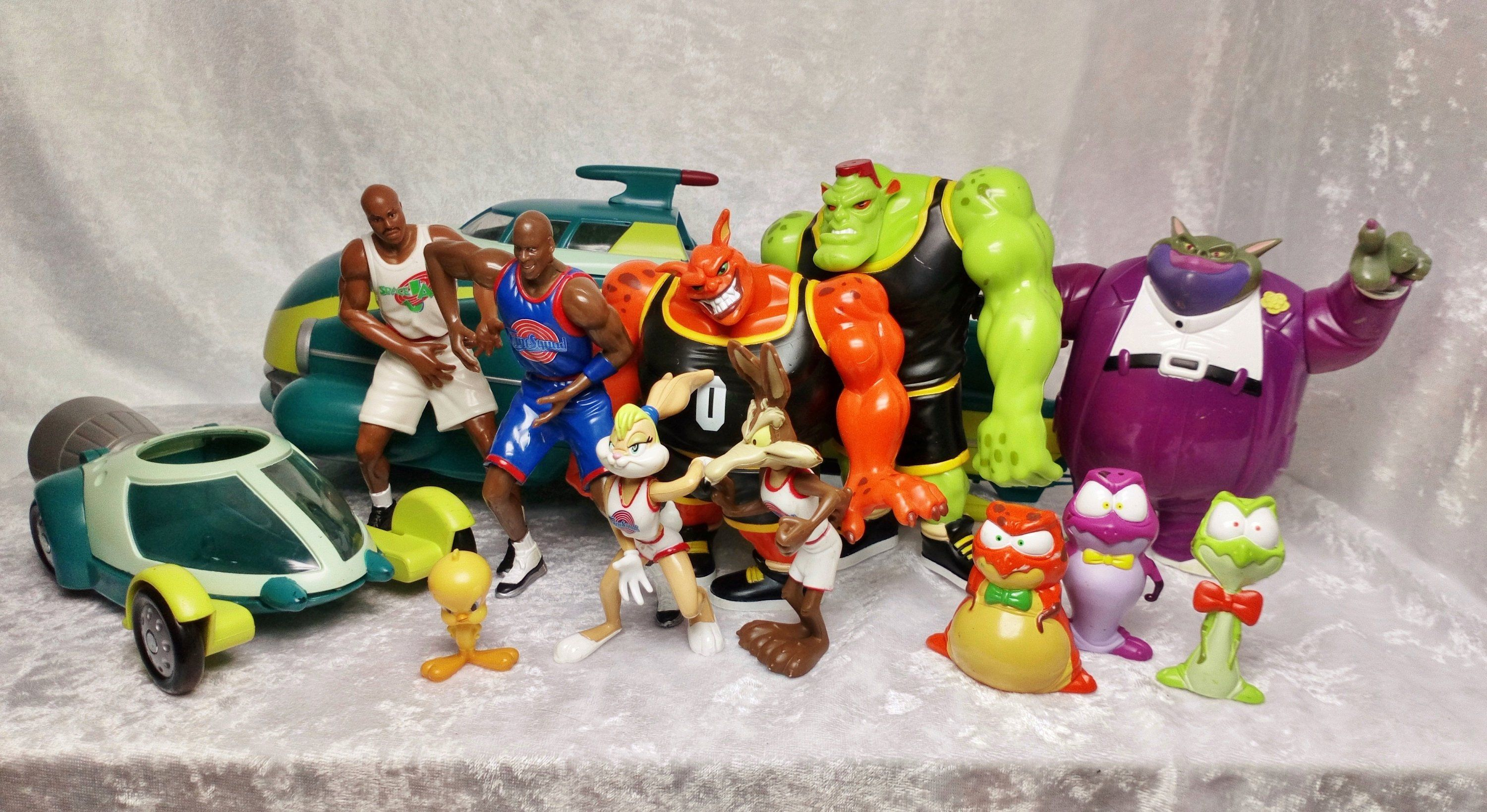 Looney Tunes Warner Bothers Space Jam Toysfigures Space Ship