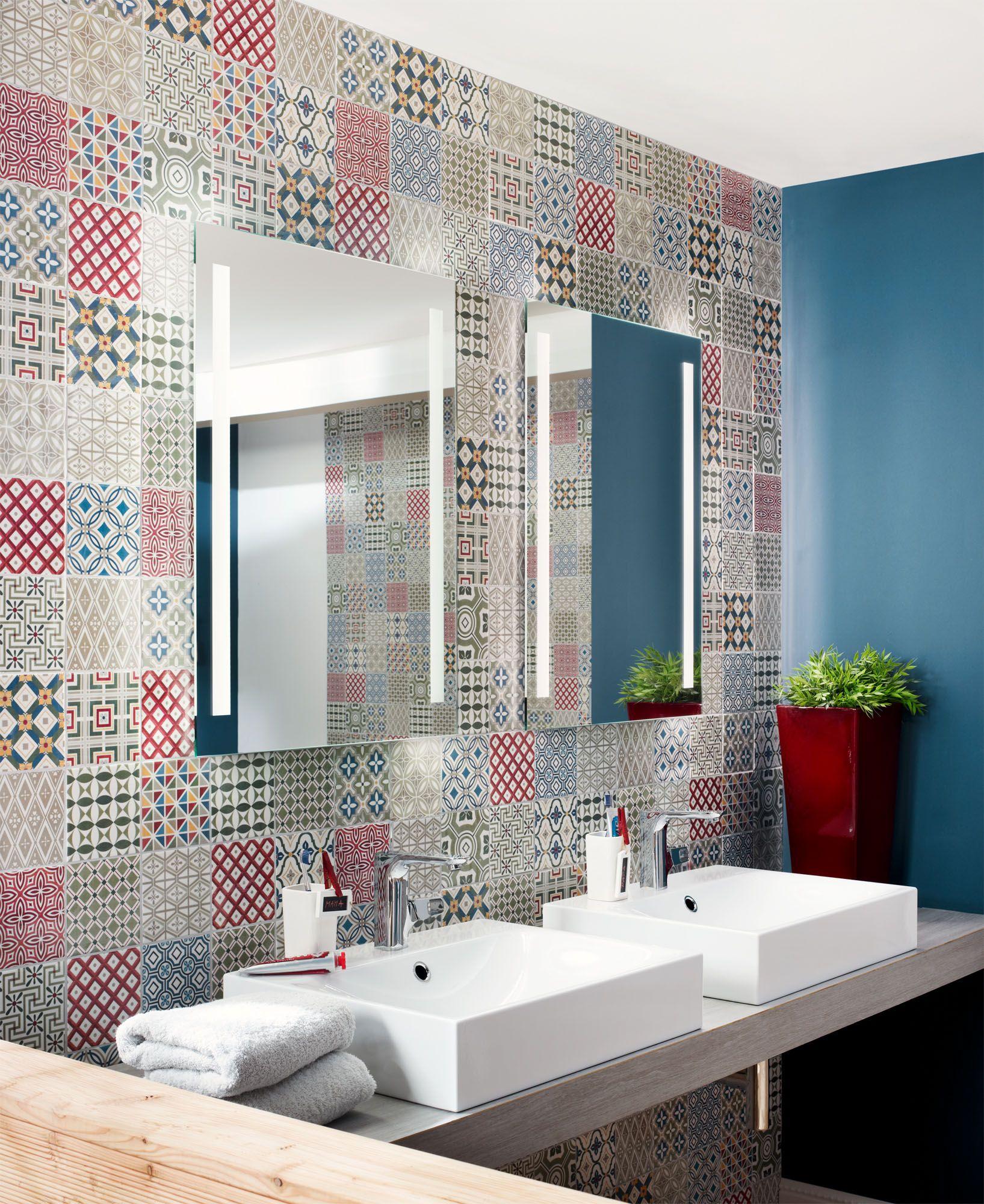 Patchwork Grande Badezimmerboden Badezimmer Boden Badezimmer Design