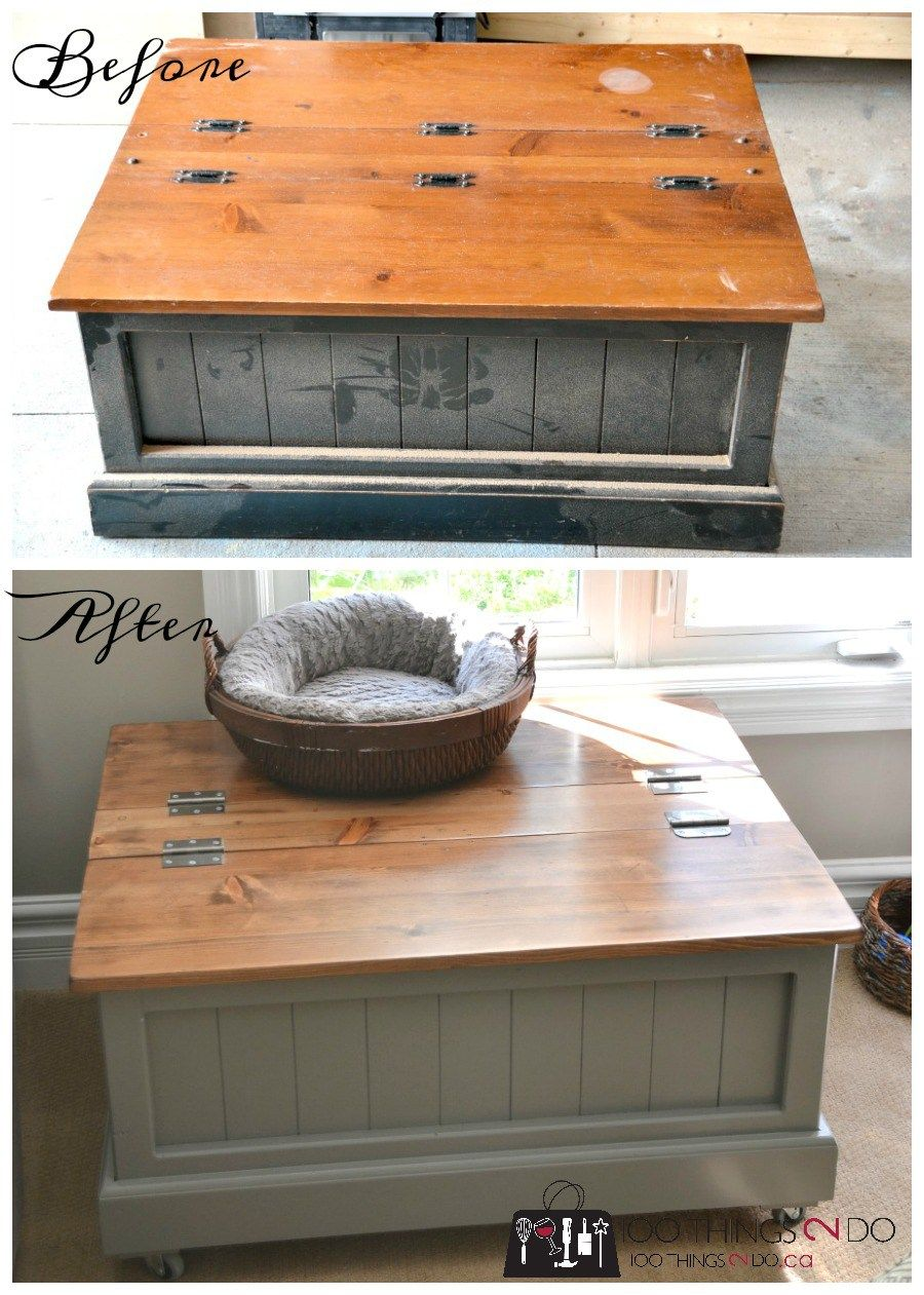 Coffee Table With Storage Decorating Tables Diy