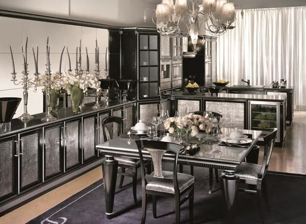 Modern Kitchen Designs With Art Deco Decor And Accents In Nouveau Style Design Interior Living Room