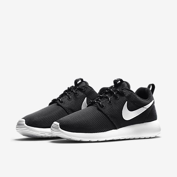 nike roshe run women's grey and white saddle nike shoes