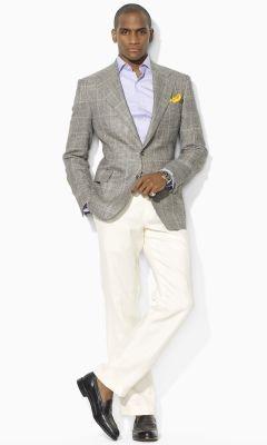 Garrison Windowpane Blazer - Polo Ralph Lauren Sport Coats