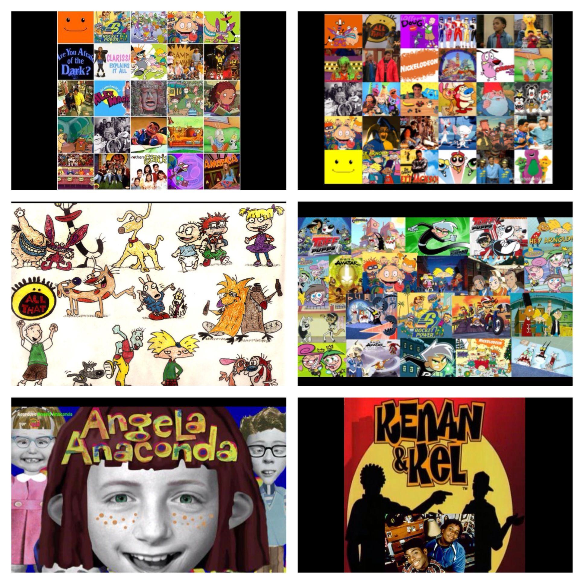 Anything 90's and early 2000's Nickelodeon shows