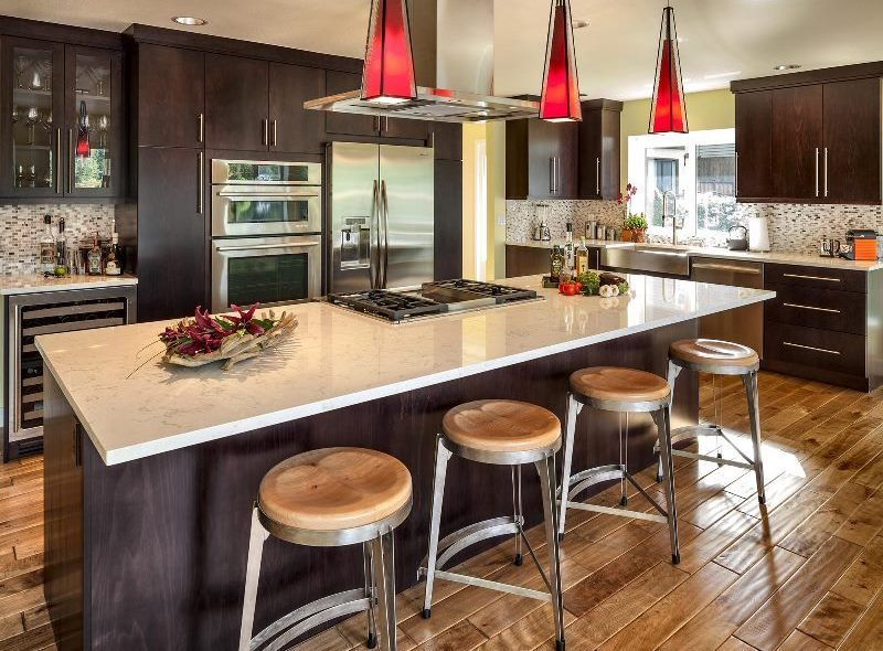 Cambria Countertop With Dark Kitchen Cabinets Cambria Fair Dark Kitchen Designs Design Decoration