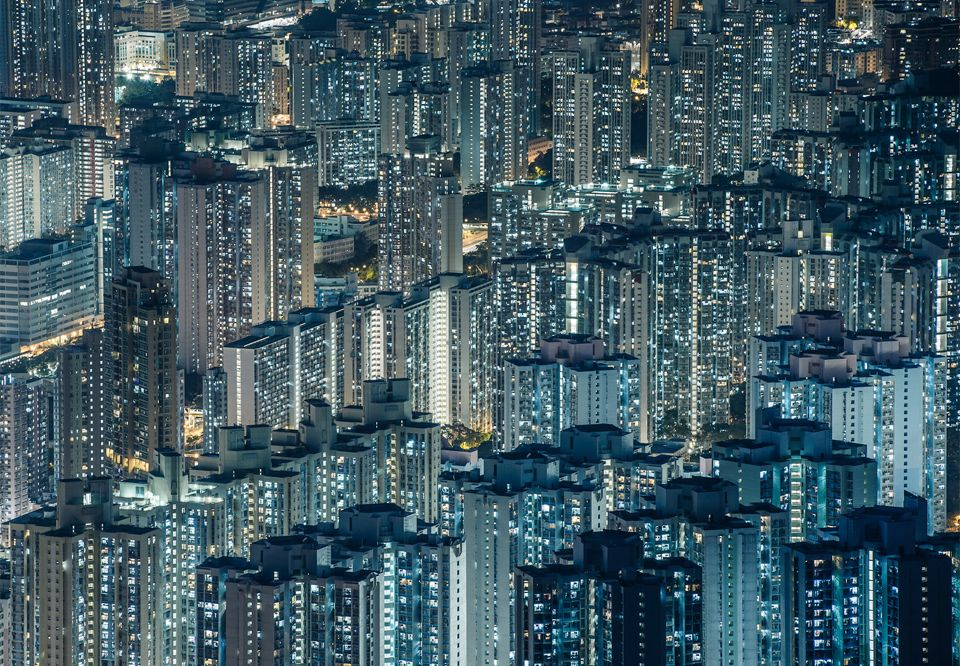 Mongkok district of Hong Kong has the world's highest
