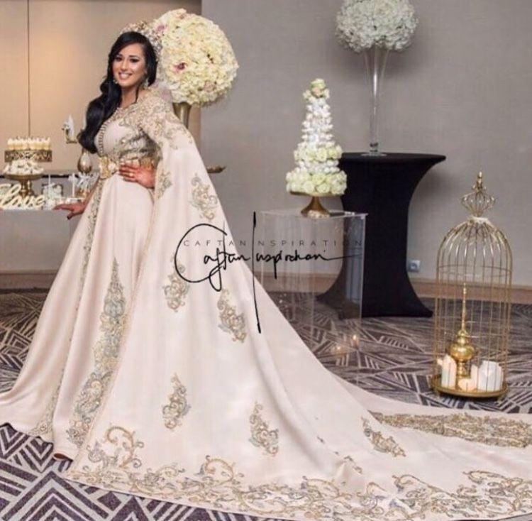 Caftan Robes Romantique De Mariage Robe Orientale Mariage Caftan Mariage