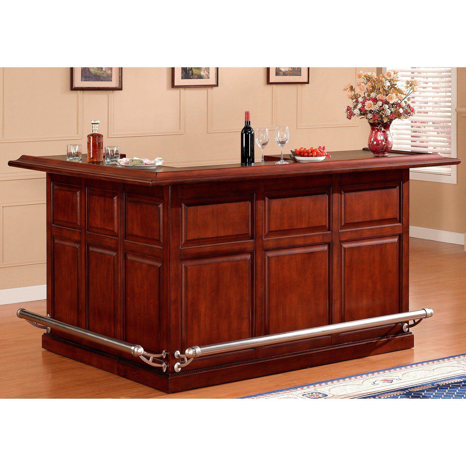 Ahb Catania Return Bar Navajo Www Hayneedle Com Bar Furniture Home Bar Cabinet Home Bar Furniture