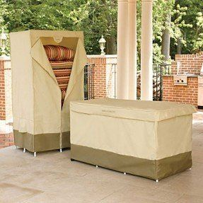 Patio Furniture Cushion Storage