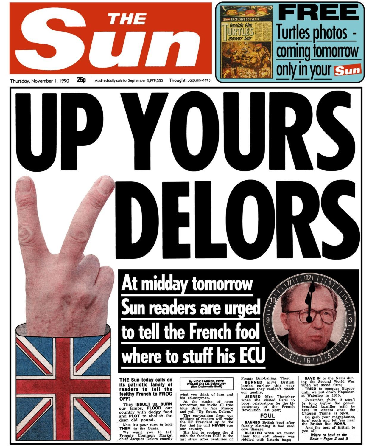 Brexit How to memorize things, Headlines, Newspaper