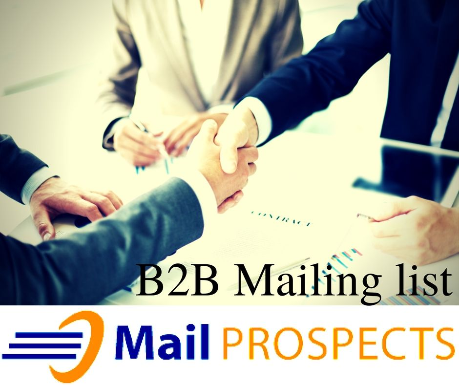 Mail Prospects is a leading B2B mailing list provider. Our