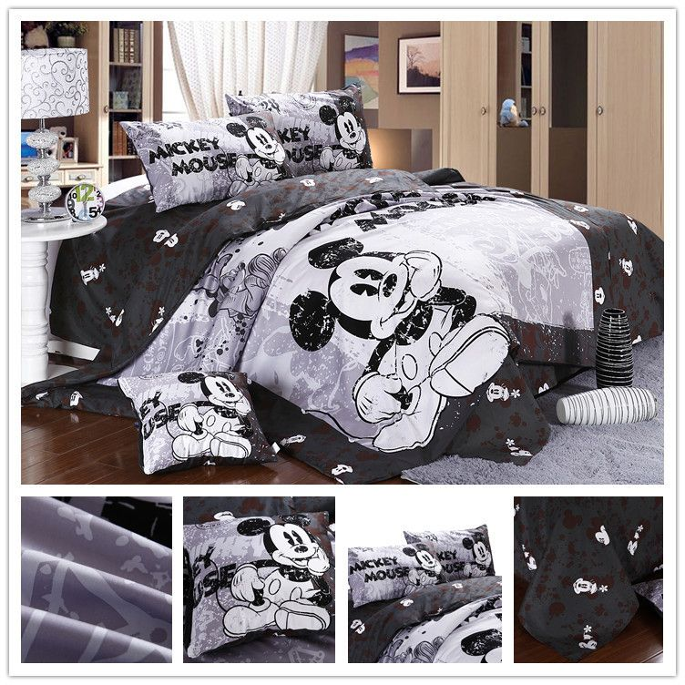 Mickey Mouse Bedding Set | Disney Style Home Decor | Pinterest ...