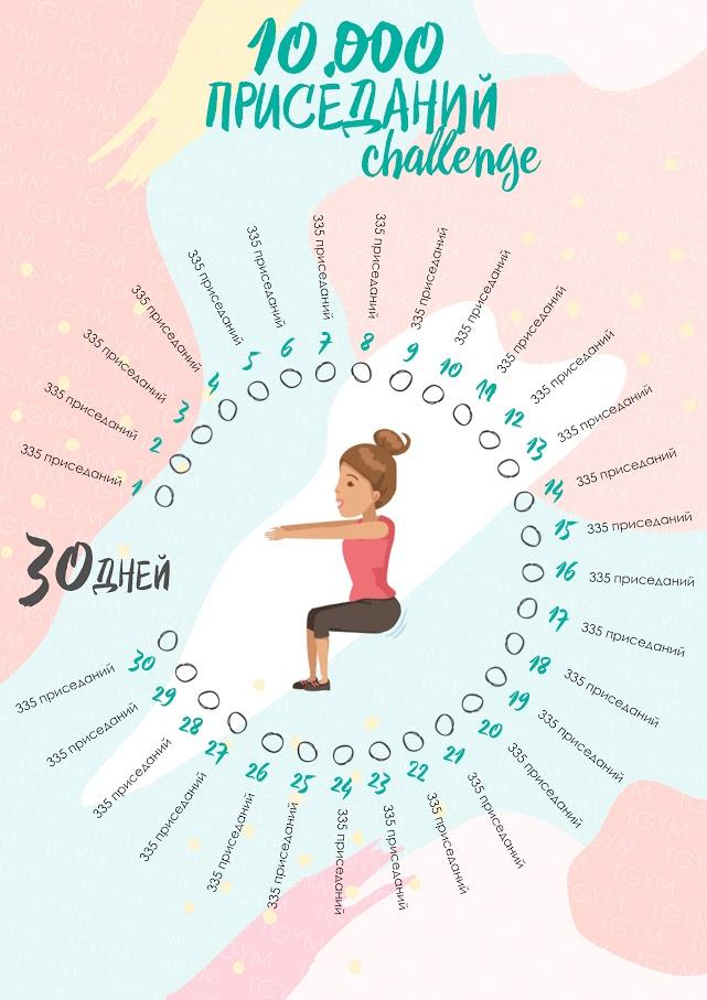 Спорт Похудеть За 30 Дней Упражнения Картинки.
