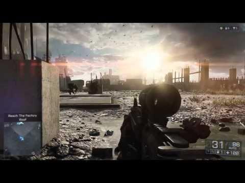 Primeiro gameplay do Battlefield 4. Veja em HD, tem 17 minutos de duração.